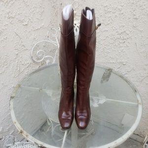 Salvatore Ferragamo Woman Brown Leather Vintage
